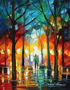 """Power of Faith"" Painting by Leonid Abremov From redbubble.com"
